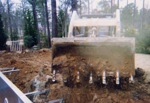 Construction Process - Backfill the Pool #001
