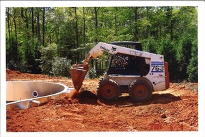 Construction Process - Backfill the Pool #002