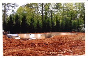 Construction Process - Backfill the Pool #003
