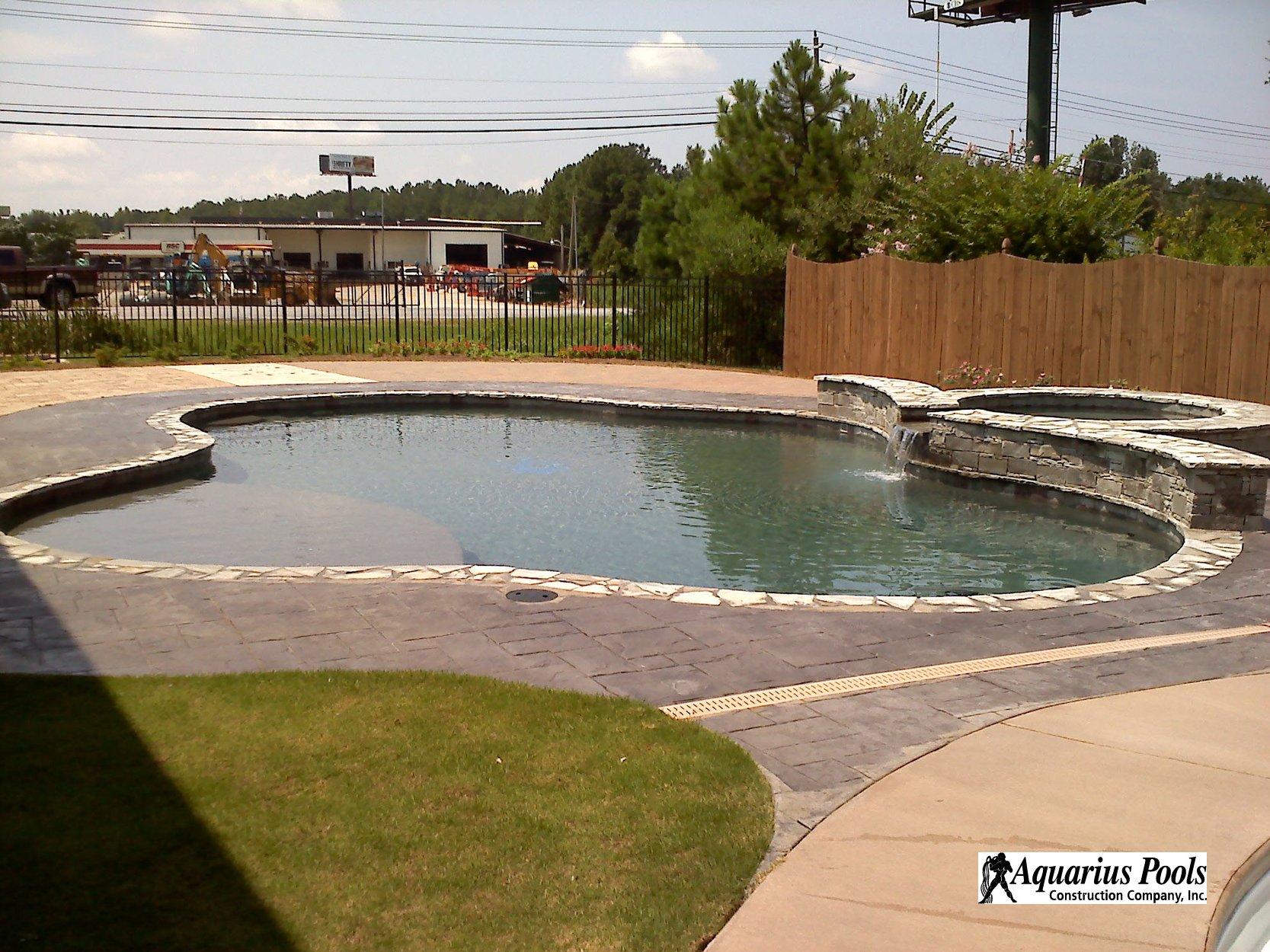 Concrete pool construction columbus georgia for Concrete pool builders