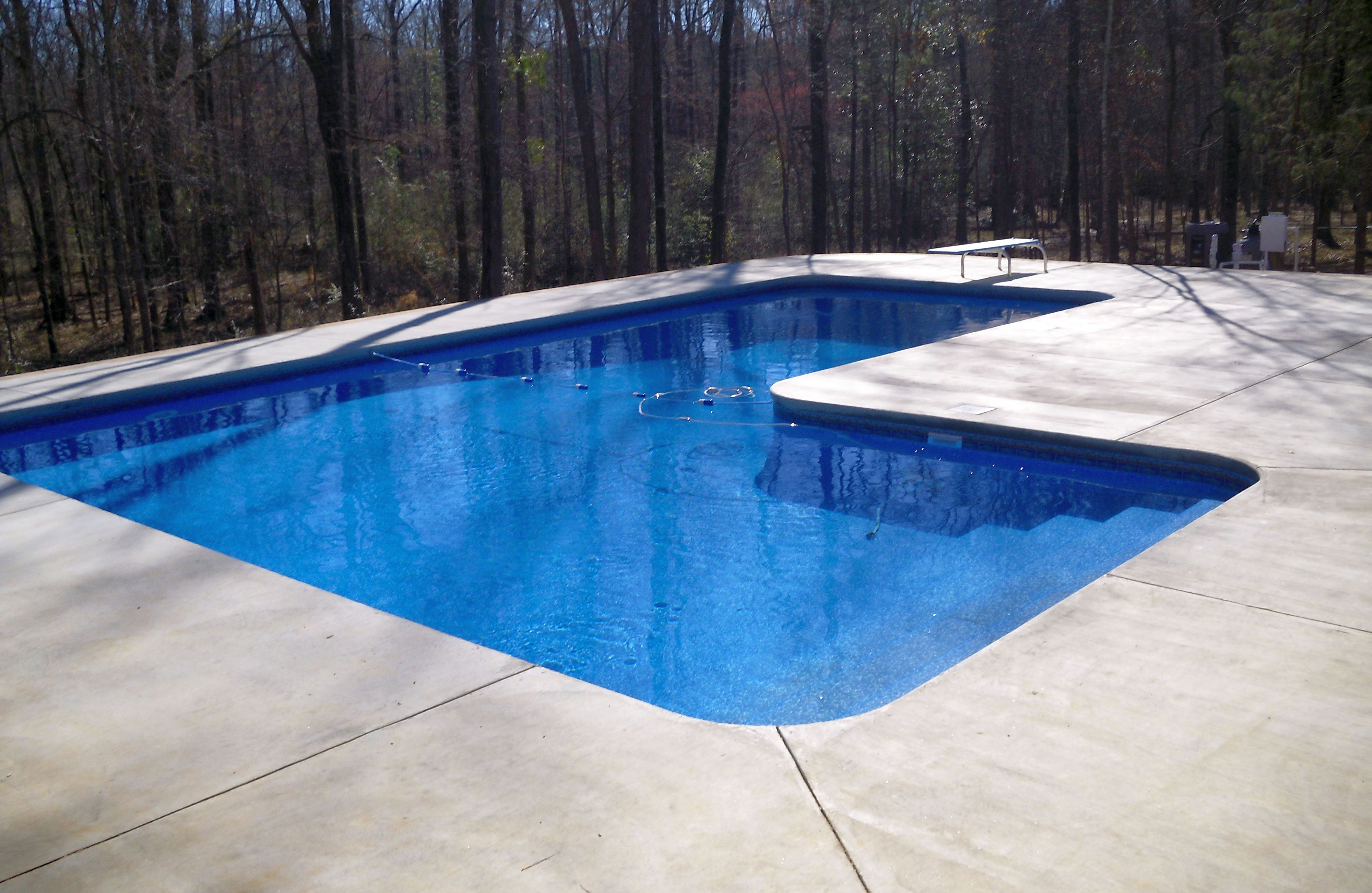Vinyl liner pool construction columbus georgia for Best type of pool