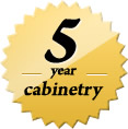 5 Years Cabinet